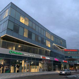 Agrandissement du Centre Médical Brunswick