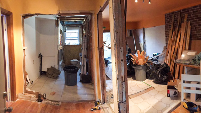 Rosemont Quebec Structural Engineer Load Bearing Wall removed