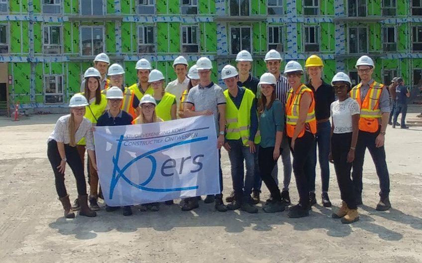 L'association des étudiants néerlandais KOers visite SBSA