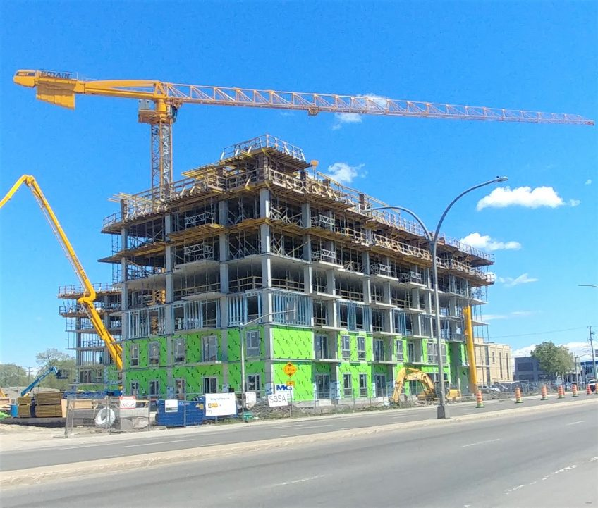 VSL Condominiums en construction